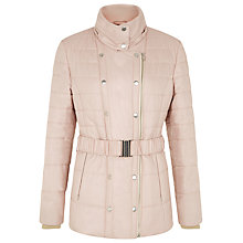 Buy Kaliko Almond Belted Coat, Light Pink Online at johnlewis.com