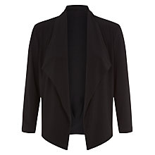 Buy Planet Jersey Jacket, Black Online at johnlewis.com