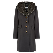 Buy Kaliko A-Line Coat, Black Online at johnlewis.com