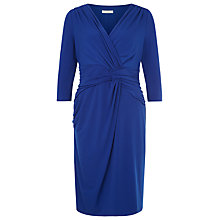 Buy Kaliko Printed Jersey Dress, Cobalt Online at johnlewis.com