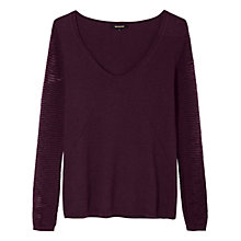 Buy Gérard Darel Marta Jumper, Burgundy Online at johnlewis.com