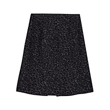 Buy Gérard Darel Printed A-Line Skirt, Black Online at johnlewis.com