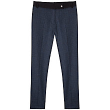Buy Gérard Darel Paulette Trousers, Blue/Black Online at johnlewis.com