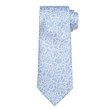 Buy John Lewis Boy Archive Print Tie, Pale Blue Online at johnlewis.com