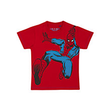 Buy Spider-Man Children's T-Shirt, Red Online at johnlewis.com