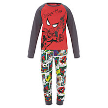 Buy Spider-Man Children's Pyjamas, Red Online at johnlewis.com