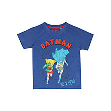 Buy Batman Children's No.1 Hero T-Shirt, Blue Online at johnlewis.com