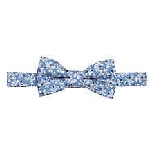 Buy John Lewis Boy Archive Print Bow Tie, Blue Online at johnlewis.com