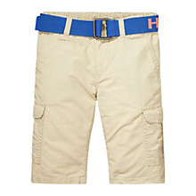 Buy Tommy Hilfiger Boy's Cargo Shorts, Khaki Online at johnlewis.com