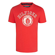 Buy Tommy Hilfiger Boy's University T-Shirt Online at johnlewis.com