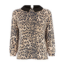 Buy Oasis Animal Cropped Jumper, Multi Online at johnlewis.com