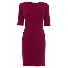 Buy Oasis Jacquard Mini Tube Dress, Berry Online at johnlewis.com