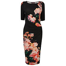 Buy Phase Eight Felicity Floral Dress, Black Online at johnlewis.com