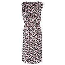 Buy Oasis Twirling Tulip Dress, Multi Pink Online at johnlewis.com