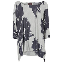 Buy Phase Eight Islay Rose Jumper, Grey Online at johnlewis.com