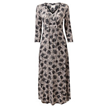 Buy East Phoebe Print Jersey Dress, Smoke Online at johnlewis.com