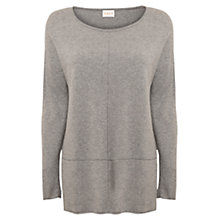 Buy East Seam Detail Jumper, Smoke Online at johnlewis.com