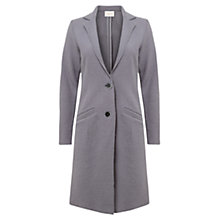 Buy East Tailored Wool Boyfriend Coat, Ash Online at johnlewis.com
