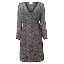 Buy East Fara Ombre Print Dress, Slate Online at johnlewis.com
