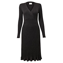 Buy East Pleated Wool Dress Online at johnlewis.com