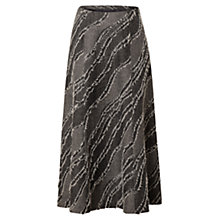 Buy East Wave Tweed Skirt, Slate Online at johnlewis.com