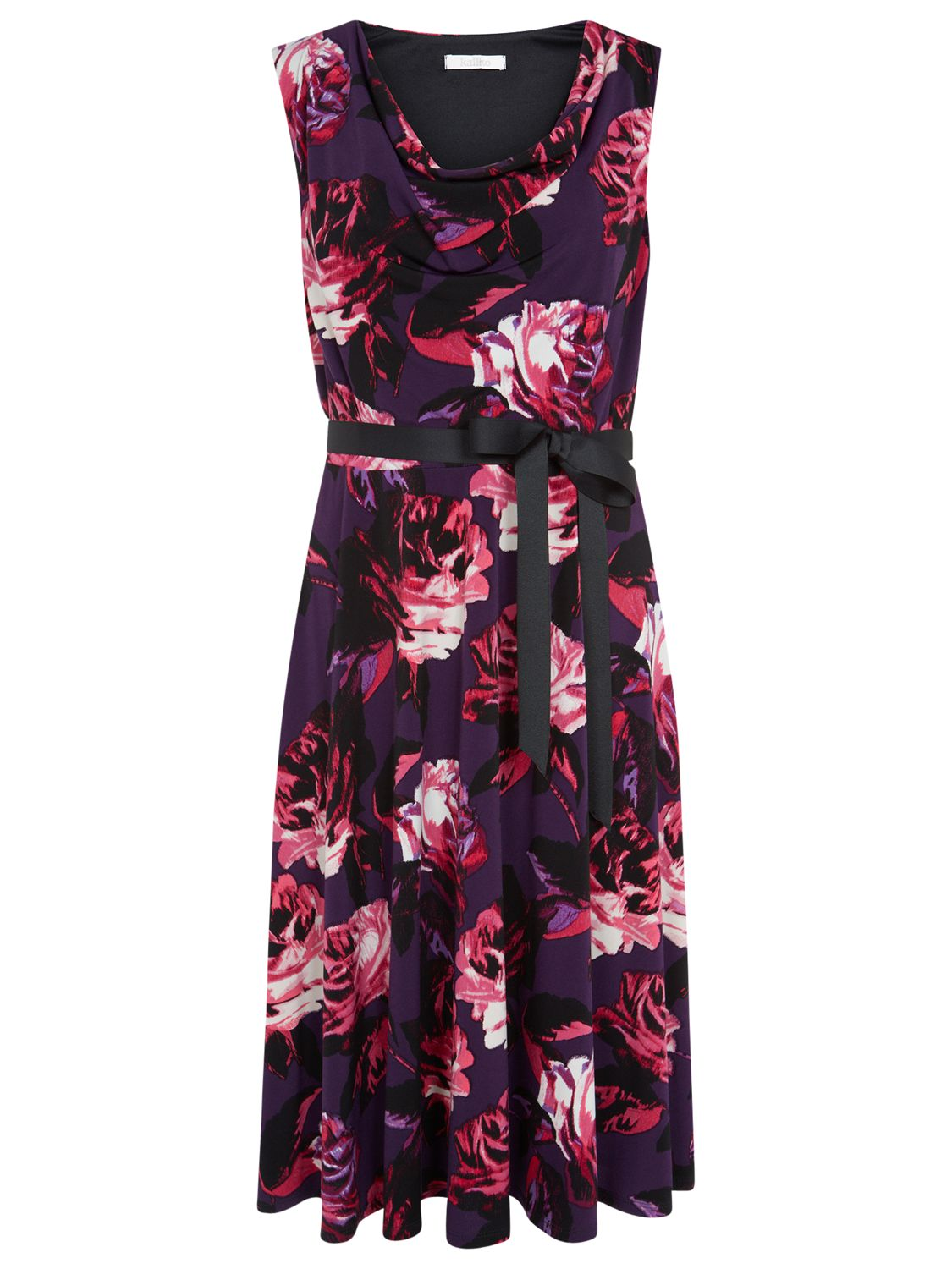 kaliko rose print dress berry, kaliko, rose, print, dress, berry, 18|10|12|14|8|16, clearance, womenswear offers, womens dresses offers, special offers, 20% off selected kaliko, women, plus size, inactive womenswear, new reductions, womens dresses, 1703645