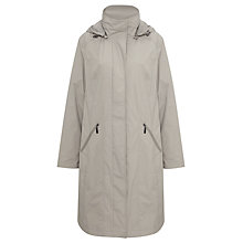 Buy Four Seasons Performance 3/4 Length Coat, Pebble Online at johnlewis.com