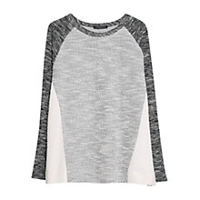 Buy Violeta by Mango Contrast Flecked Jumper, Multi Online at johnlewis.com