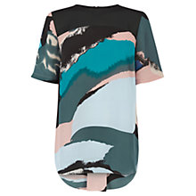 Buy Warehouse Hologram Printed T-Shirt, Multi Online at johnlewis.com