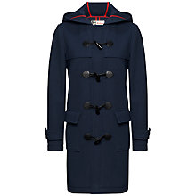 Buy Jaeger Boutique Duffle Coat, French Navy Online at johnlewis.com