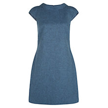 Buy Hobbs Nancy Dress, Blue Melange Online at johnlewis.com