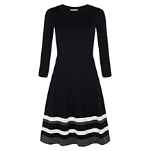 Buy Hobbs Millie Dress, Navy Online at johnlewis.com