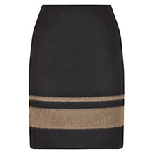 Buy Hobbs Hilles Skirt, Black Putty Online at johnlewis.com
