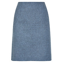 Buy Hobbs Nancy Skirt, Blue Melange Online at johnlewis.com