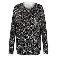 Buy Hobbs Bree Jumper, Choc Multi Online at johnlewis.com