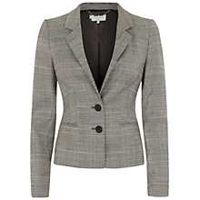 Buy Hobbs Hallie Jacket, Grey Multi Online at johnlewis.com