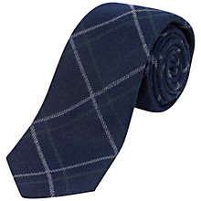 Buy Jaeger Windowpane Check Wool Tie Online at johnlewis.com