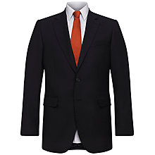 Buy Jaeger Plain Twill Classic Jacket, Navy Online at johnlewis.com