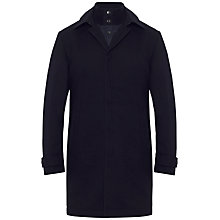 Buy Jaeger Mac with Detachable Gilet, Navy Online at johnlewis.com