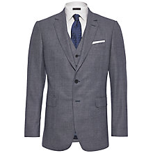Buy Jaeger Melange Check Suit Jacket, Slate Online at johnlewis.com