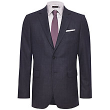 Buy Jaeger Glen Check Flannel Suit Jacket, Ink Online at johnlewis.com