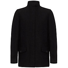 Buy Jaeger Wool Driving Coat, Charcoal Online at johnlewis.com