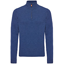 Buy Jaeger Lambswool Half Zip Jumper Online at johnlewis.com