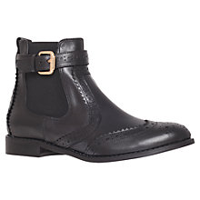 Buy Carvela Slow Leather Chelsea Boots, Black Online at johnlewis.com