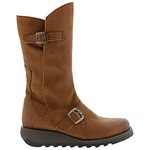 Buy Fly Mes 2 Leather Calf Boots, Brown Online at johnlewis.com