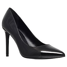Buy KG by Kurt Geiger Bailey Court Shoes, Black Online at johnlewis.com
