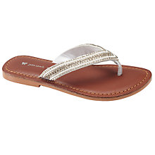Buy John Lewis Melissa Dia Sequence T-Bar Sandals Online at johnlewis.com
