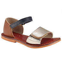Buy John Lewis Penny Metallic Sandals Online at johnlewis.com