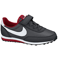 Buy Nike Children's Elite SI Trainers, Black/White Online at johnlewis.com
