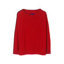 Buy Winser Audrey Cashmere Jumper, Hollywood Red Online at johnlewis.com